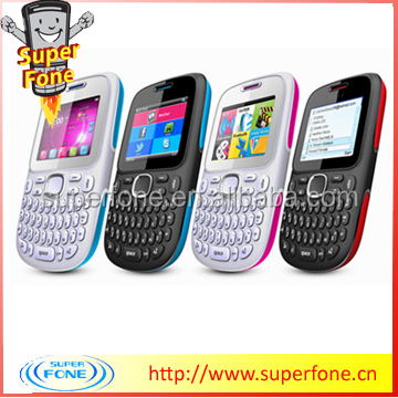 D101 2.0inch Chinese Dual Sim Cell Phone Large Qwerty Keyboard Cell Phones For Sale