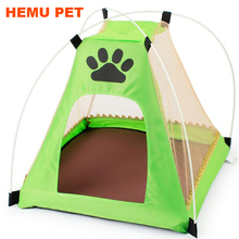 2017 hemu wholesale dog bed folder indoor and outdoor cot canopy shelter pet tent
