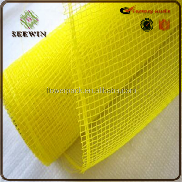 Decorative flower wrapping mesh/ PP floral plastic mesh /PP mesh
