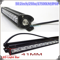 "4WD LED light bar 50""250w CREE LED light bar 4X4 LED light bar"