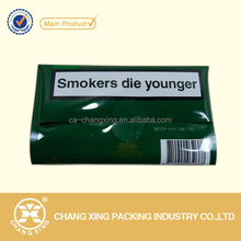 high barrier Printed golden virgina tobacco pouch