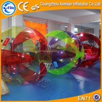 Factory high quality colorful water roller ball, best price running ball water crystal ball for flowers