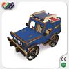 Wooden Jeep Solar Energy Moving Toy