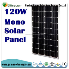 Gama Solar 120w high power trina solar pv panel 120 watt