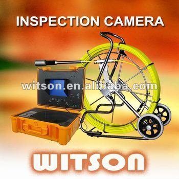 WITSON Sewer Pipe Inspection with Meter Counter with Built-in 512Hz Transmitter