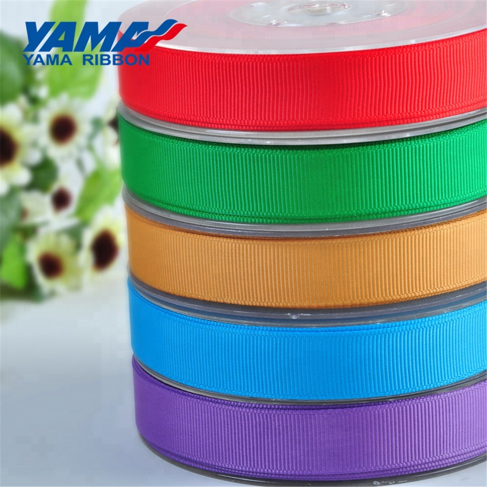 Factory directly cheap 3 inch wide 100% polyester grosgrain ribbon