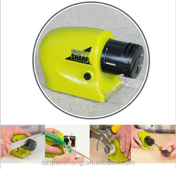 As Seen On TV Multi-function Electric Knife Sharpener Swifty Sharp for kitchen
