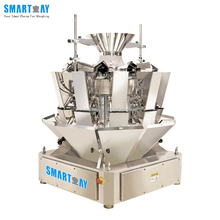 10 Head Multihead Combination Weigher For Food 2.5L Bucket doser