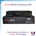 JUNXBOX Premium hd receiver with Fan& jb200&wifi antenna for north america