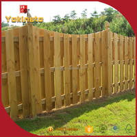 Factory direct supply Expanding Vegetable privacy garden fence panel of timber wood