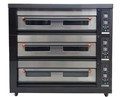 Professional 3 layer 9 Trays 380V Voltage Pizza Oven electronic component baking oven