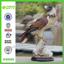 Animal Stand Home Resin Eagle Statues for Sale