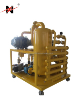 ZHONGNENG ZYD Vacuum transformer oil purifier | dielectric Oil Regeneration System | Oil Filter