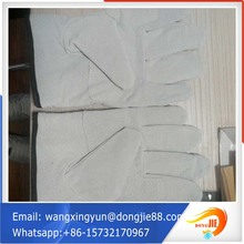 cow grain leather truck driver gloves