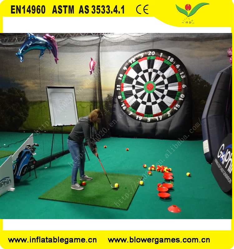 2017 Commercial outdoor inflatable golf dart game