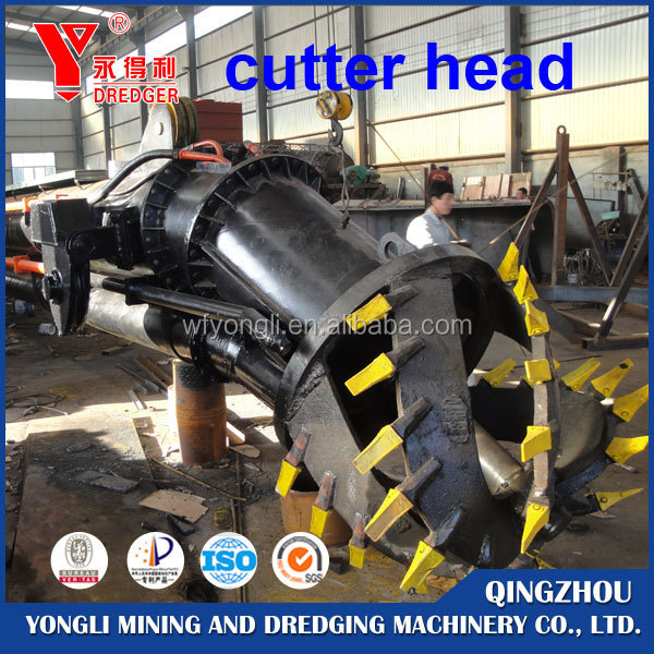 Alibaba Website CE Certficate cutter suction sand dredging machine, sand dredger for sale