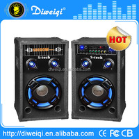 60w 2.0 professional wooden music speaker system for sale
