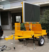 Buy Solar Powered PVms Trailer Australian B Size 5 Color in China ...