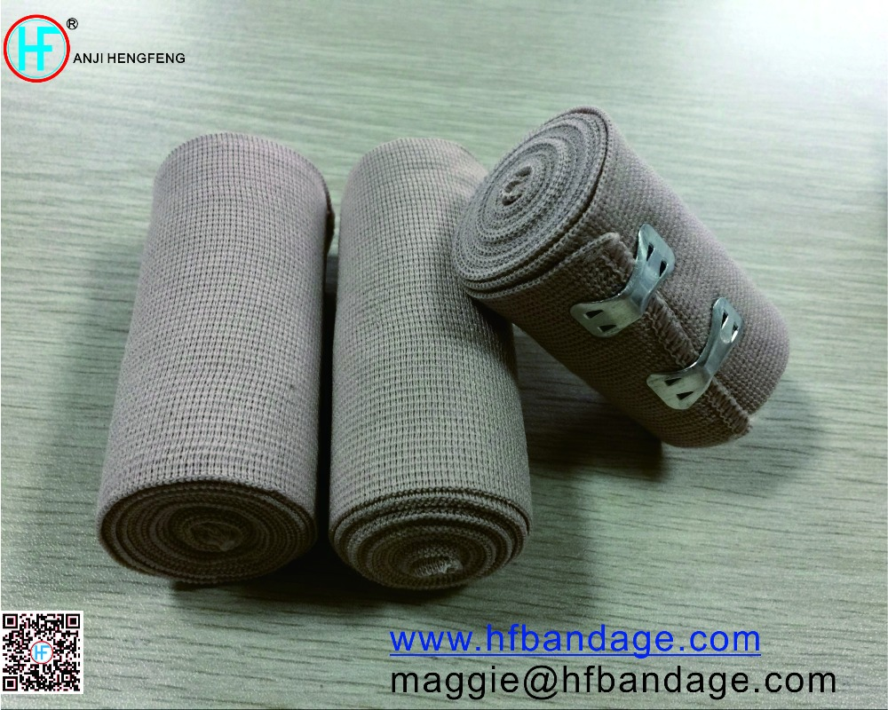 Rubber/Spandex High Elastic Bandage, Medical High Elastic Bandage, Durable High Elastic Bandage