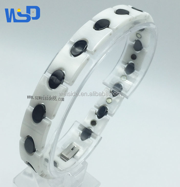 2017 new design popular wholesale ceramic bracelet/fashion bangles necklace