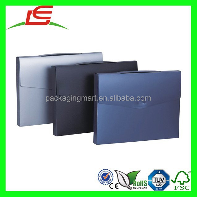 N775 High Quality PP Document File Box A4 Plastic File Box With Handle
