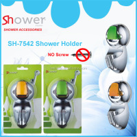 SH-7542 ABS Plastic Movable Suction Shower Holder Bracket