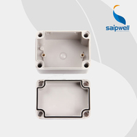 SAIPWELL/SAIP Best Selling Electronics 80*110*70mm ABS/PC Waterproof Plastic Junction Enclosure (DS-AG-0811)