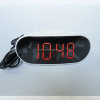 Radio controlled LED time light clock