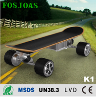 Newly factory price Fosjoas K1 hover board 4 wheels electric skateboard with App controller
