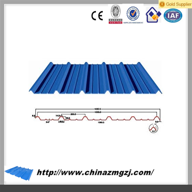 corrugated steel roofing plate metal roofing plate color roofing for workhouse
