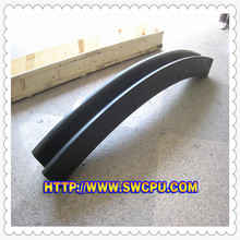 """U' shape plastic channel extrusion"