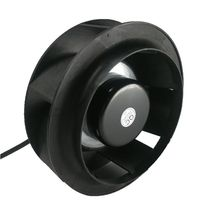 175mm motorized impeller 24v 48v dc small industrial centrifugal <strong>fan</strong> for machine cooling