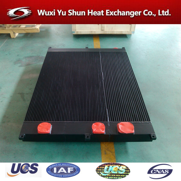 screw compressor bar and plate oil heat exchanger parts