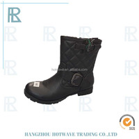 Durable Using Low Price Black Patent Leather Military Boots