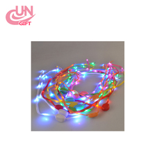 Waterproof LED Luminous Light Up Glow Strap Shoelace Shoe Laces Party Disco