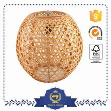 Wholesale Eco-Friendly Wicker Pendant Ceiling Light Lamp Shades