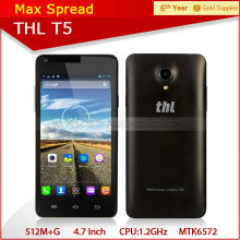 Android 4.2.2 dual-core thl T5 gsm gprs digital mobile phone