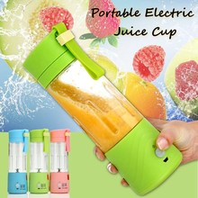 USB Electric Fruit Juicer Machine Mini Portable Rechargeable Smoothie Maker Blender Shake And Take Juice Slow Juicer 3 Colors