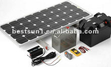 solar panel 150w Mini Specification and Home Application Solar Electricity Generating System for Home