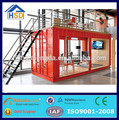 modern hot sale prefab flat pack modular container house