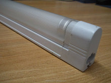 T5 plastic fluorescent lamp holder with cover