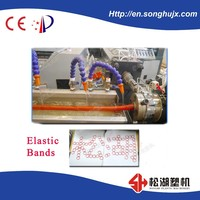 New Product Colourful Plastic Rubber Band Making machine