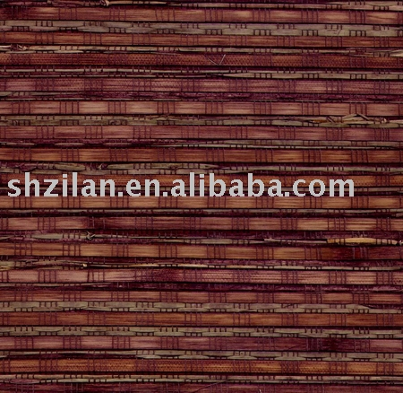 Natural Bamboo Wallpaper ZL8-M433(wall paper,flocking wallpaper )