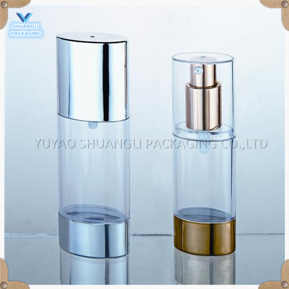 50ml SAN oval airless pump bottle