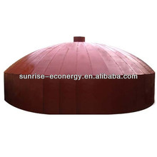 SUNRISE frp biogas anaerobic digester/methane tank / biogas regulator