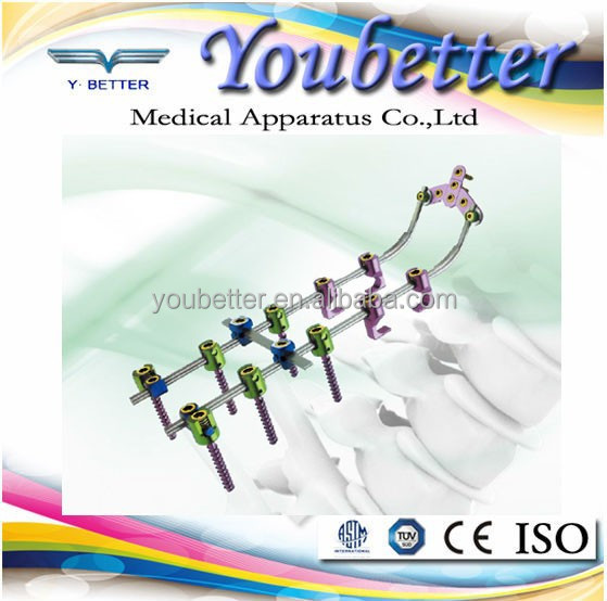 Hot professional product Posterior Cervical Rod&Screw System;spinal cord