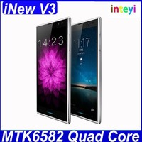 "Original Inew V3 MTK6582 Quad Core Smartphone 5.0"" HD Screen 1G RAM 16G ROM Android 4.2 GPS 13MP Camera 6.5mm Phone Inew V3"