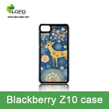 Trendy personalized sublimation cell phone case for Blackberry Z10