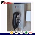 KNTECH Wall Mount emergency service Telephone cold-roll steel sheets waterproof wall sip phone