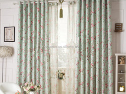 home textile printed new design curtain